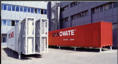 Canovate Mobile Data Center In Place